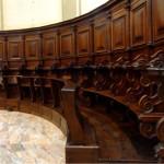 coro ligneo restaurato a Osnago