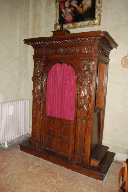 restauro di santa caterina a Besana Brianza